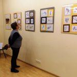 Odprtje razstave v Litvi