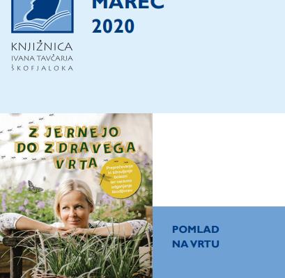 Mesečni napovednik MAREC 2020