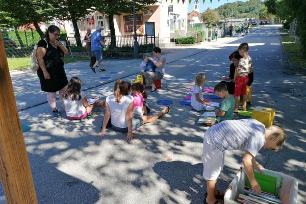 Šolska ulica odprta za ljudi