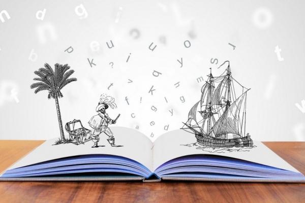 Krajevna knjižnica Železniki: URA PRAVLJIC – RAZBITA BUČA – ODPADE