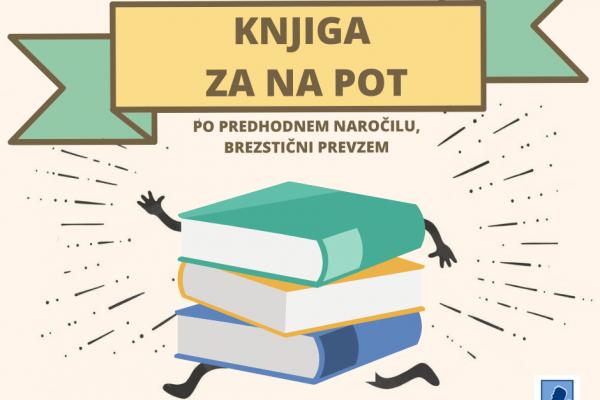 V knjižnici možen samo brezstični prevzem knjig