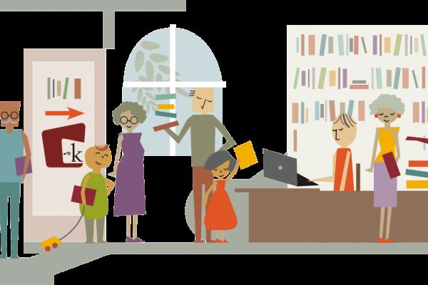 Krajevna knjižnica Trata in Krajevna knjižnica Železniki odprti še en dodaten dan v tednu