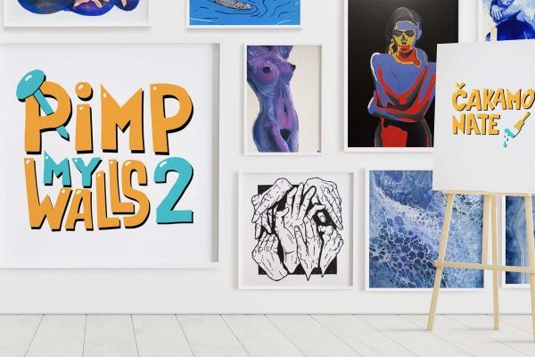 Predstavitev projekta Pimp my Walls – gibanje za lepše stene