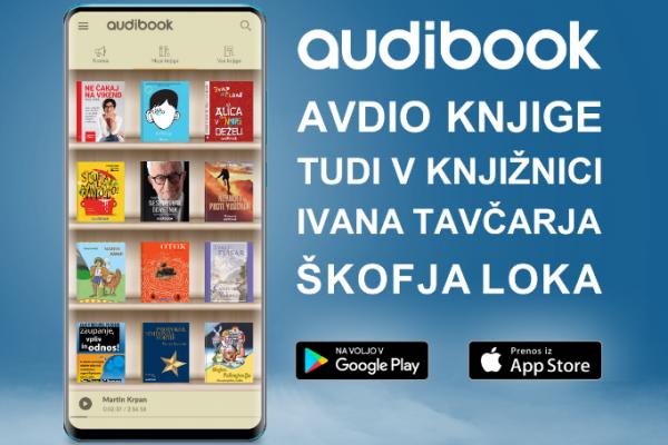 Zvočne e-knjige tudi v Knjižnici Ivana Tavčarja Škofja Loka