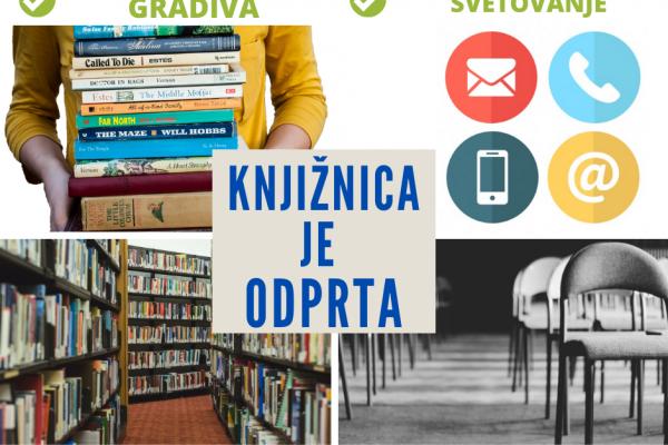 Obvestilo uporabnikom knjižnice