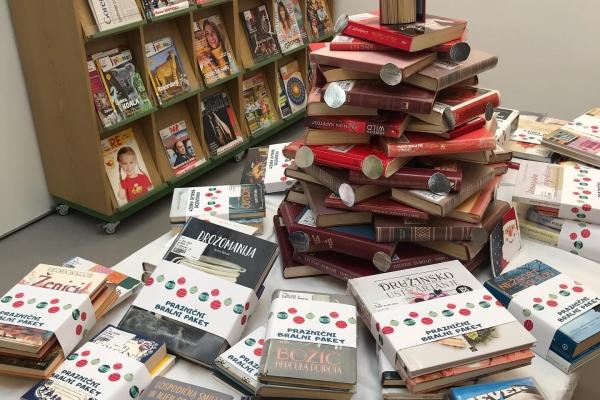 Veseli december v Krajevni knjižnici Trata