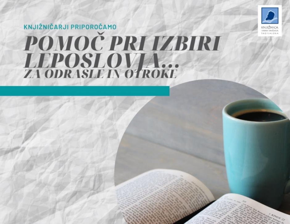 Knjižničarji Priporočamo 940x726