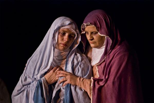 VRTINEC POEZIJE Škofjeloški pasijon Deveta podoba: ŽALOSTNA MATI