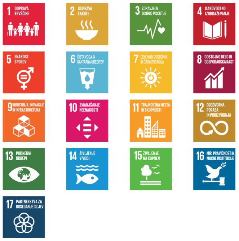 Trajnostni Razvoj Ikone